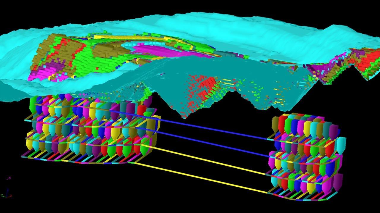 Sub Block Caving Design Under Open Pit Cavemizer